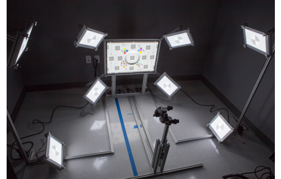 Imatest Ultra-Wide Field of View Test Fixture